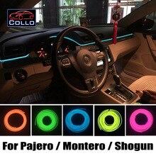 For Mitsubishi Pajero / Montero / Shogun / Pajero Sfx / Car Decoration Cold Light Romantic Atmosphere Lamp / EL Wire 9M A Set