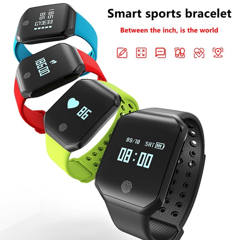 Bracelet intelligent IP67 étanche Bluetooth 4.2 Bracelet intelligent Sport Bracelet intelligent podomètre PK honor mi bande 3 bandes