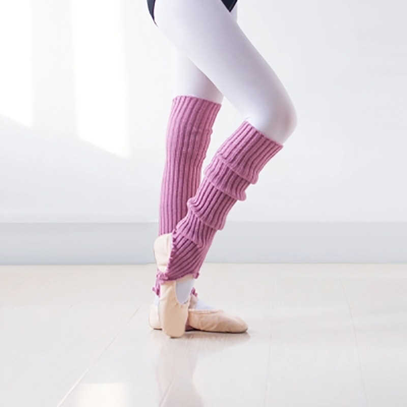 2020, buena calidad, calcetines de baile profesional para chicas, calentadores de piernas de punto para danza moderna latina, calcetines deportivos de invierno para mujeres