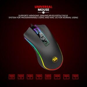 Image 3 - Redragon M711 FPS COBRA Mouse Da Gioco Pixart 3360 Sensore Ottico di Gioco 16.8 Milioni di Chroma RGB A Colori Retroilluminato Wired 24000 DPI FPS