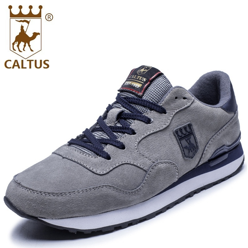 CALTUS Summer Casual Shoes Men Breathable New Fashion Men Flats Genuine Leather Good Quality Working Shoes Size 38-44 AA20522 male casual shoes soft footwear classic men working shoes flats good quality outdoor walking shoes aa20135