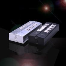 AC110-240V высококачественный фильтр питания очиститель питания розетка Защита от молнии удлинитель для HiFi аудио