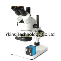 7 90X Double Binocular Vision Trinocular Stereo Microscope Kit + 14MP HDMI USB TF Card Industrial Camera for Motherboard Repair