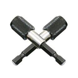 Best Магнитная отвертка держатель бит 1 шт. черный 60 мм 1/4 шестигранным хвостовиком Quick Release электродрель