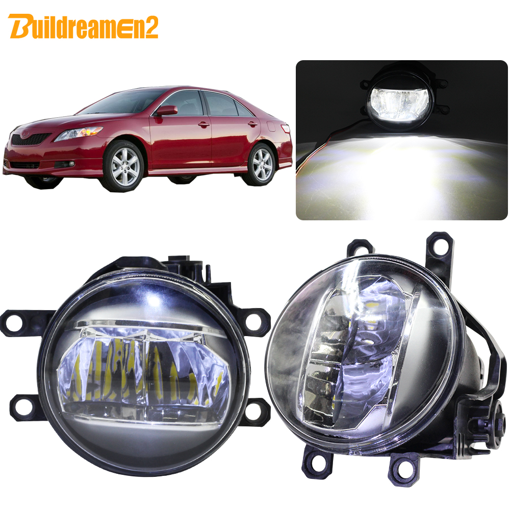 Buildreamen2 For Toyota Camry 2006 2007 2008 2009 2010 2011 2012 Car Right + Left Fog Light 4000LM LED Daytime Running Light 12VBuildreamen2 For Toyota Camry 2006 2007 2008 2009 2010 2011 2012 Car Right + Left Fog Light 4000LM LED Daytime Running Light 12V