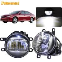 Buildreamen2 For Toyota Camry 2006 2007 2008 2009 2010 2011 2012 Car Right + Left Fog Light 4000LM LED Daytime Running Light 12V