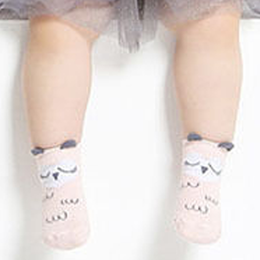Cute Animal Baby Socks Non-slip Rubber Soles KT Sock for Baby Girls Boys Cartoon Newborn Kids Socks Children Baby Cheap Stuff