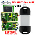 Quality Excellent PCB Full Chip AN2131QC Latest V160 Renault Can Clip Diagnostic Interface Multi-Function CAN Clip For Renault