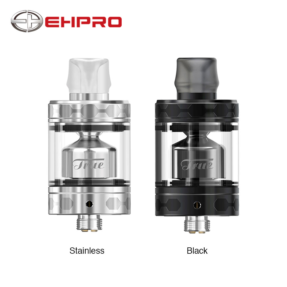 New Original Ehpro True MTL RTA 22mm Diameter with 2ml/3ml Capacity & Five Different Air Slots Top Refill Design MTL RTA Tank цены