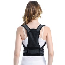 Body Shaping Posture Corrector Adjustable Back Brace Straightener Support Trainer Humpback Correction Belt Strap(China)