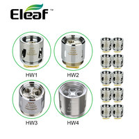 Original 10pc Eleaf HW1 4 Coil Head 0 2ohm 0 3ohm HW1 2 For Ello Mini