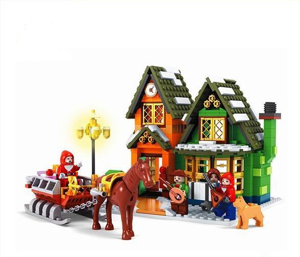 Ausini building block set compatible with lego new city series 087 3D Construction Brick Educational Hobbies Toys for Kids ausini building block set compatible with lego castle series 046 3d construction brick educational hobbies toys for kids