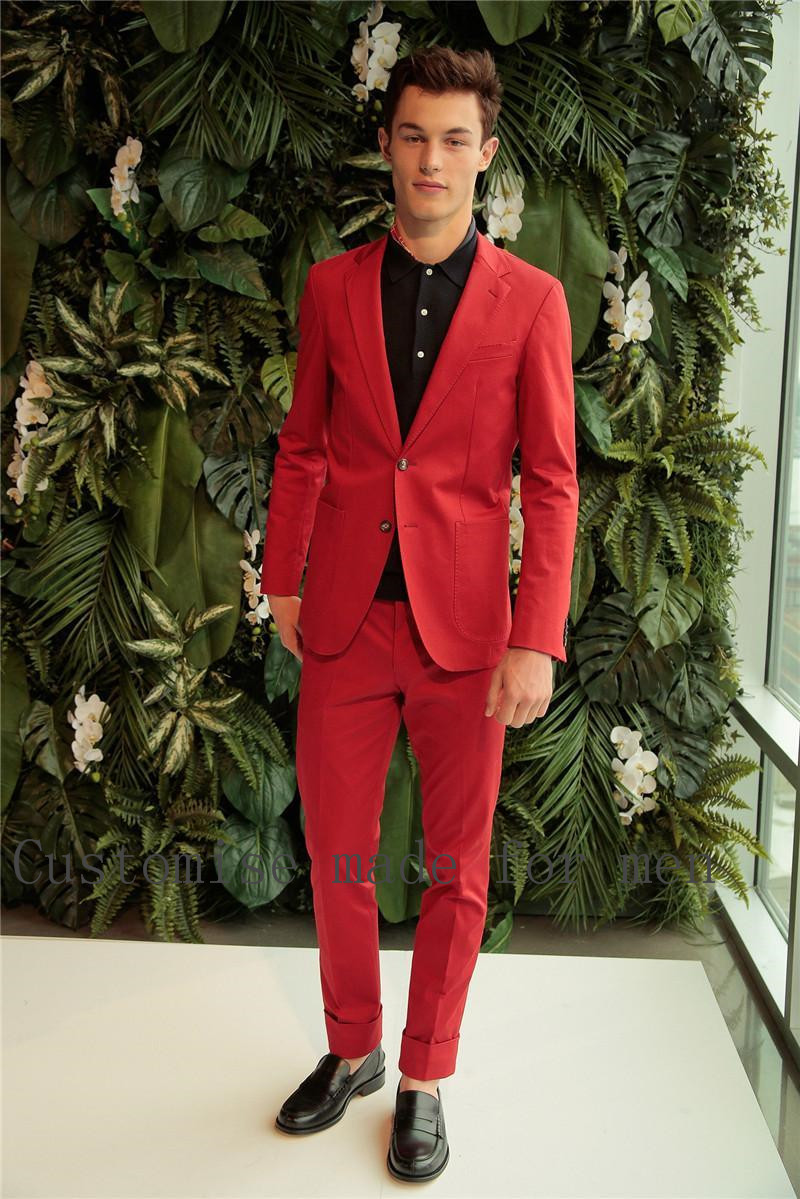 Compare Prices on Men Red Coat Suit- Online Shopping/Buy Low Price ...