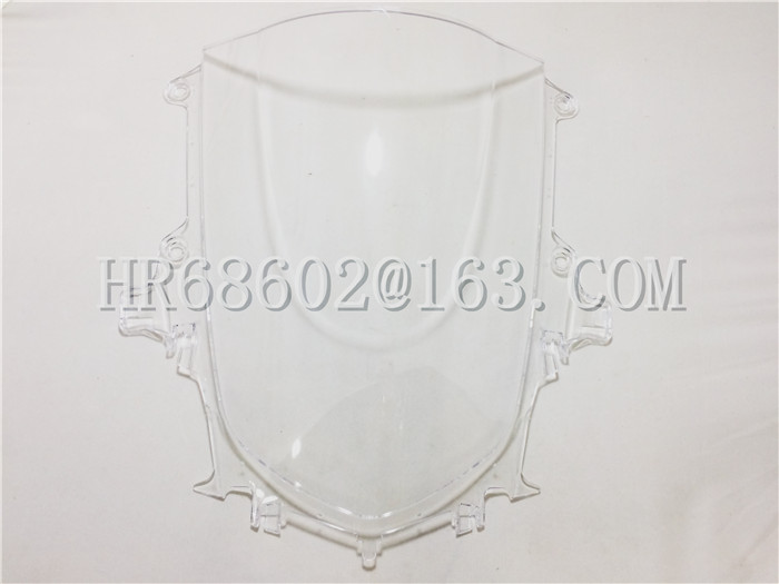 motorcycle Windshield WindScreen Double Bubble For Yamaha YZF 1000 <font><b>R1</b></font> 2015 2016 2017 2018 <font><b>2019</b></font> 2020 White 15 16 17 image
