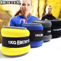 2 шт./1 пара 2 кг ноги лодыжки веса ремни силовые тренировки фитнес оборудование для бега Баскетбол Футбол