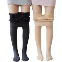CHLEISURE  S-3XL Winter Warm Leggings Women High Waist Velvet Legging Solid Plus Size Autumn Leggings 5 Color