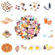 1Set Simulation Food Ice Cream Mineral Water Bottles Pizza Eggs Yolk Pretend Play Kitchen Cooking Kids Children Baby Funny Gift(China)