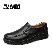 CLAXNEO Man Shoes Genuine Leather Autumn Male Shoe Slipons Soft Casual Loafers High Quality luxury