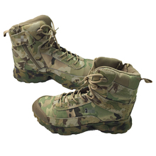 Multicam Camouflage Tactical Boots Military Army Outdoor Hunting CP Durable Soft Breathable Leather Travel Combat Climbing Shoes