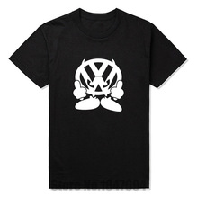 New T Shirt Men Brand VW FACE Volkswagen Auto Printed T-shirt Graphic Tees Mens Tshirt Short Sleeve Cotton O Neck