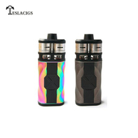 Original Teslacigs Tesla CP COUPLES Kit with 220W CP COUPLES Box Mod and Dual CP Couples RDTA Tanks Electronic Cigarette Vape
