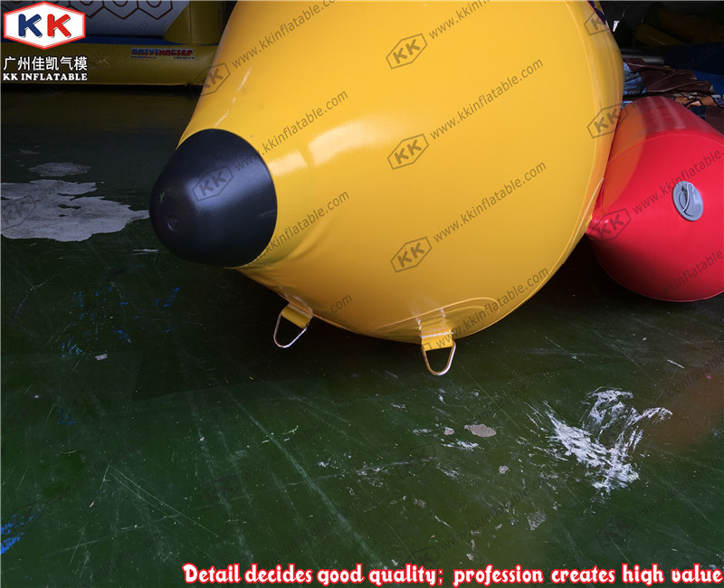 Water sport 3 seats inflatable banana boat for sea water