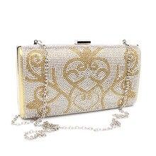 Designer Kupplung Berühmte Marke Frauen Kupplung Diamanten Floral Frauen Tasche Tag Kupplungen Abendtaschen Bolsas Femininas Lady Umhängetasche