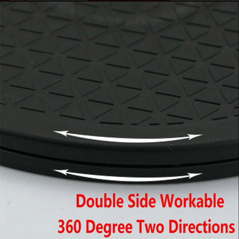 Ciche stałe Gładkie tworzywo sztuczne HDPE Leniwy Susan Gramofon - Meble - Zdjęcie 6