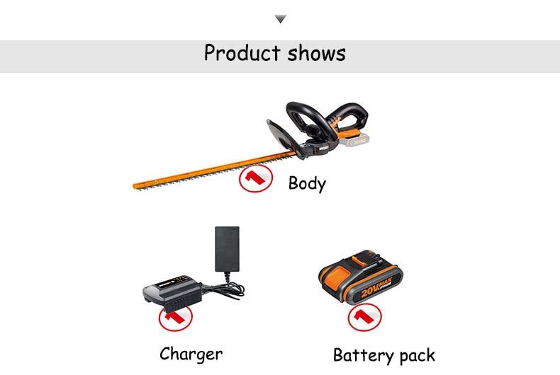 bateria de lítio do aparador 20 v