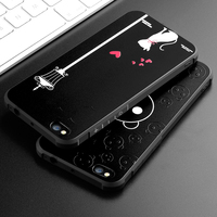 3D Cartoon Duck Back Cover For Apple IPhone 6 6s 7 Plus Soft Silicon Phone Cases