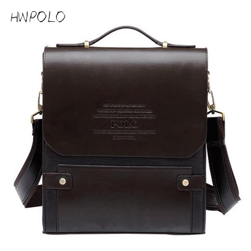 HWPOLO 2017 Luxury Handbags Men Bags Designer Famous Brand Messenger Shoulder Bag Designer Crossbody Bags For Men High Quality стоимость