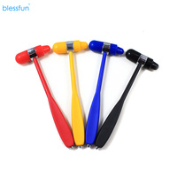 Blessfun New Medical Neurological Hammer Percussor Auxiliary Diagnostic Reflex Percussion Hammer Joint Massager