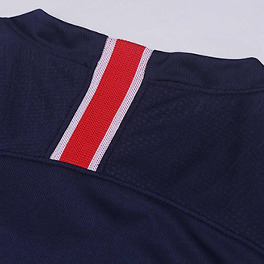 cce25c794 ... Soccer Jersey Paris Men Football Sets Adults Soccer Shirt Top Quality  Paris Neymar Jr Cavani Mbappe ...