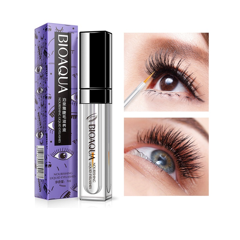 aff20cd1387 BIOAQUA eyelash growth serum treatments eyelash serum 7 Days Longer Thicker feg  eyelash enhancer eye lash