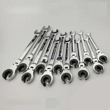 צינורות מחגר ברגים שילוב ברגים מחגר להגמיש ראש מטרי שמן גמיש קצה פתוח ברגים כלים