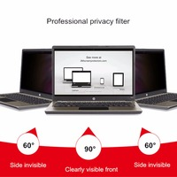 Amzdeal 14 Inch Laptop Privacy Screens Anti Privacy Filter For Laptop Computer Monitor Laptop Skins Screens