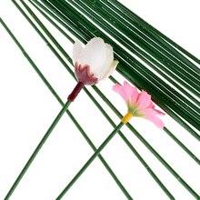 20pcs Wire Wreath Branch DIY Supplies Flower Wedding Home Decoration Mosaic Flores Plant Bouquet Accessories
