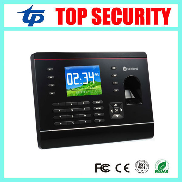 A-C061 biometric fingerprint and RFID card time attendance time recording time clock with TCP/IP USB communication tcp ip usb fingerprint time and attendance time clock time recording with mf card reader 3 inch color screen with free software