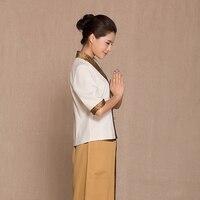 Health care clothing foot bath work Uniform suits SPA technician Thailand Massage garment Beautician Overalls Hospital Nurse