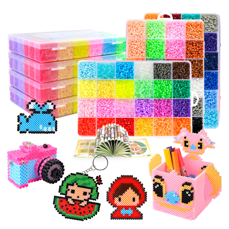 Perler beads kit 5mm/2 6mm kit hama beads 5mm 2 6mm DIY