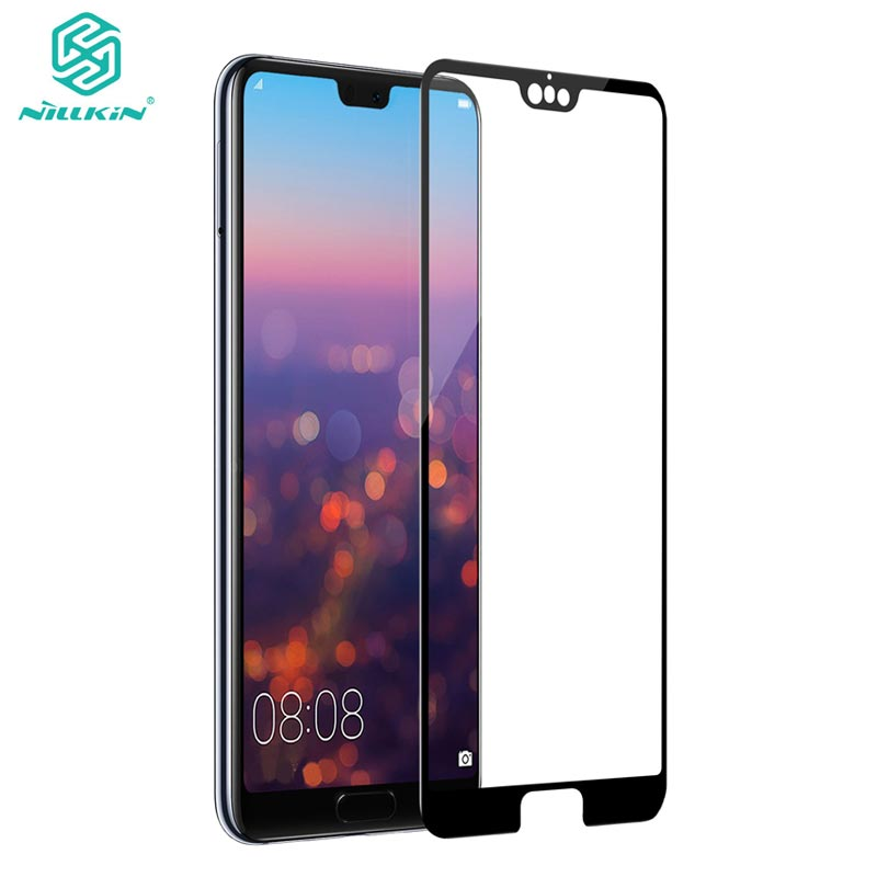 Huawei P20 Pro Tempered Glass Huawei P20 Pro 3D Glass Nillkin CP+ Max Full Cover Screen Protector