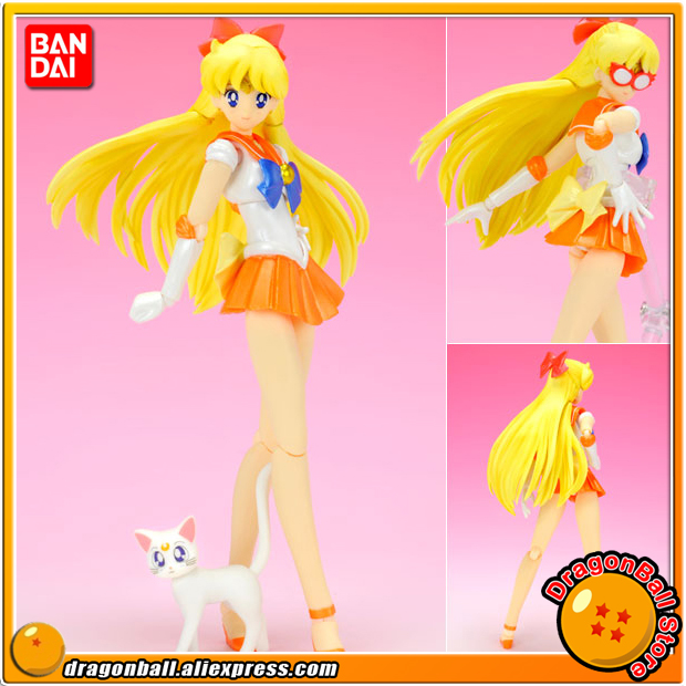 Japanese Anime Pretty Guardian Sailor Moon Original BANDAI Tamashii Nations SHF S H Figuarts Action Figure