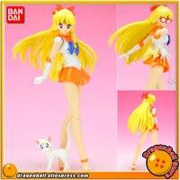 Japanese Anime Pretty Guardian Sailor Moon Original BANDAI Tamashii Nations SHF / S.H.Figuarts Action Figure Sailor Venus
