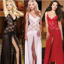 Lace Lingerie Full slip women Retro Sexy Lace Pajamas Sexy Underwear Noble Princess Lingerie Vestido Petticoat Jupe Underdress