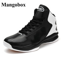 Mangobox Men Basketball Shoes 2017 New Big Size Shoes Men Basketball Red Yellow Outdoor Sport Shoes