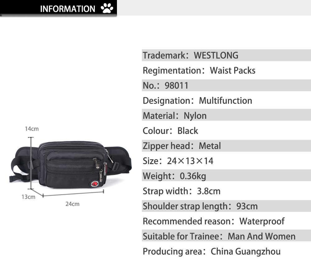 ウエストパックカジュアル機能胸男性防水軍事パック女性ベルトボムバッグ男性電話財布ポーチバッグユニセックス 98011