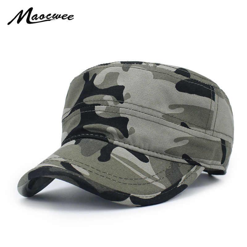 025eed2528534 Los hombres de la moda de las mujeres sombrero de camuflaje militar de las  Fuerzas Especiales