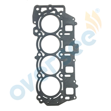 OVERSEE 6C5-11181-01 Outboard Head GASKET CYLINDER For Yamaha Outboard Engine 4Stroke 50HP 60HP F60C