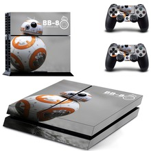 STAR WARS BB-8 Vinyl Decal Skin Sticker Cover for Sony PS4 PlayStation 4 and 2 controller skins