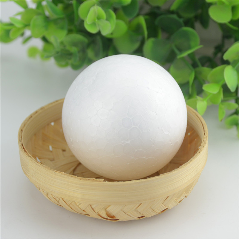 2PCS / Lot New Christmas Decoration Snowball Party White Foam Ball DIY Holiday Wedding New Year Decoration Flower Ball Material